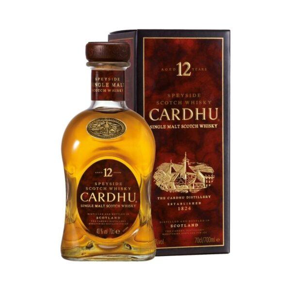 CARDHU 12 YEARS Parmacash vendita dettaglio e ingrosso