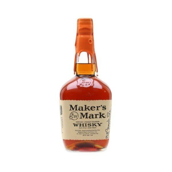 MAKER'S MARK RED BOURBON 100 CL. Parmacash vendita dettaglio e ingrosso