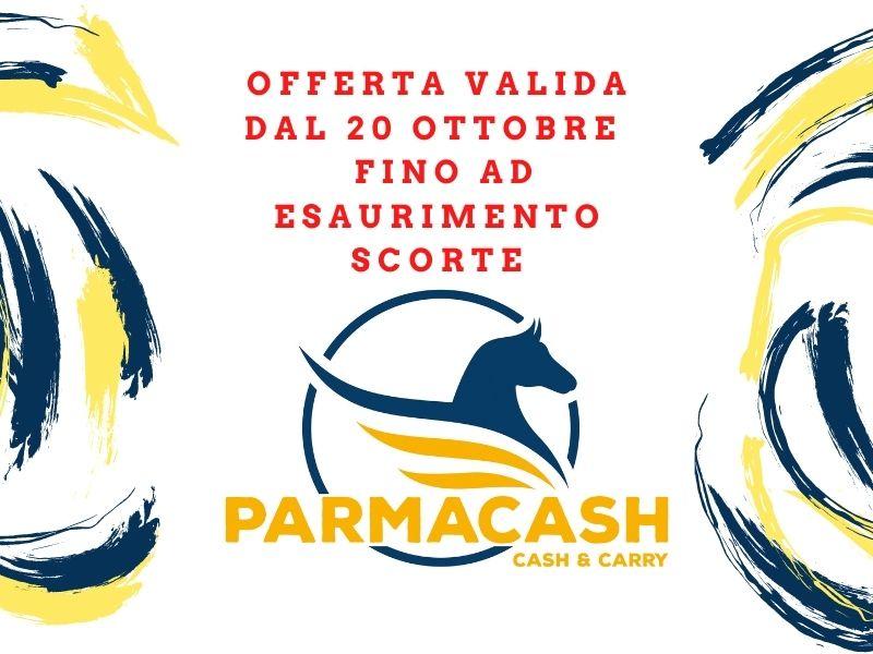 Offerte dal 20 ottobre fino ad esaurimento scorte - Parmacash