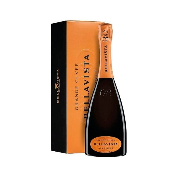 Franciacorta Brut DOCG Gran Cuvée Alma Bellavista Astucciato - Parmacash vendita dettaglio e ingrosso