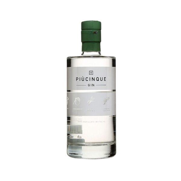 PiùCinque Gin Parmacash vendita dettaglio ed ingrosso